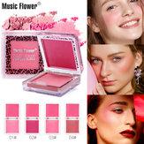 Mekeup Blush Powder Palette Długotrwały rozjaśniający róż do twarzy