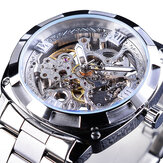 Forsining GMT1091 Light Luxury 3ATM Waterproof Luminous Display Fashion Men Mecânico Relógio