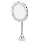 5x Magnifying LED Lighted Makeup Mirrors flexibility Illuminated 360 Rotation