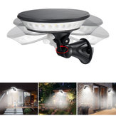 360° LED Solar Motion Sensor Light Outdoor Security Wall Mount Security Lamp