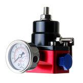 الوقود قابل للتعديل الضغط منظم FPR كيت غاز النفط الضغط 0-100psi المقياس 6AN AN6 الخط