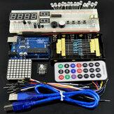 مجموعات Geekcreit Basic Learning Starter مع UNO R3 Geekcreit for Arduino - المنتجات التي تعمل مع لوحات Arduino الرسمية