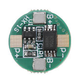 3pcs 1S 3.7V 18650 Lithium Battery Protection Board 2.5A Li-ion BMS with Overcharge and Over Discharge Protection