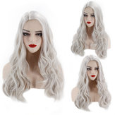 Long Body Wave Ombre Schwarz Rosa Rose Gold Hellblond Braun