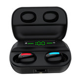 bluetooth Wireless Earphone Handsfree IPX7 Waterproof With LED Battery Display Charging Box