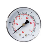 TS-Y50Z4-15 / 30/60/100/160 / 300psi 52mm Zifferblatt 1/4 BSPT Manometer
