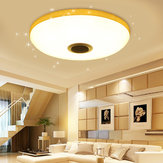 108LED RGBW Dimmable Ceiling Light Smart Music Bluetooth APP Remote Control