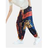 Pánské letní volné kalhoty Harem