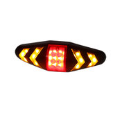 Wireless Remote Control Bicycle Turn Signal Lights Bike Tail Flashing Warning Lamp
