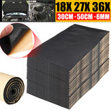 9pcs Car Van Sound Proofing Deadening Insulation Foam Mat 30cm*50cm*6mm Protector