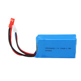 Wltoys 7.4V 1100mAh 20C 2S Lipo البطارية JST Plug for A949 A959 A969 A979 1/18 RC Vehicles
