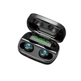 Mini Portable TWS bluetooth 5.0 Earphone Wireless Earbuds 9D Stereo Smart Touch Headphone with Mic