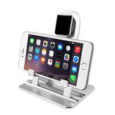 Base de carga de acero inoxidable Soporte de carga Soporte para teléfono Soporte para reloj para teléfono inteligente para iPhone Apple Watch Serie 1 2 3 4 5