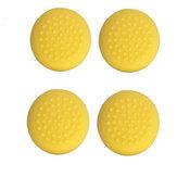 4Pcs Yellow Games Grip Rocker Caps Joystick Silicona Casos de tapa Cap para Nintendo Switch Lite Consola de juegos