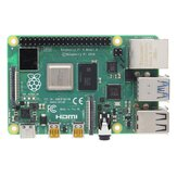 Raspberry Pi 4 Model B Moederbord moederbord van 1 GB / 2 GB / 4 GB met Broadcom BCM2711 Quad-core Cortex-A72 (ARM v8) 64-bit SoC @ 1,5 GHz