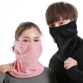 Männer Damen Winter Warme Gesichtsmaske Kalt Staubdicht Winddicht Outdoor Radfahren Ski Reisemund Schal Gesichtsmaske