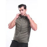 Electric USB Three-speed Thermostat Vest Warm Fleece Fabric + Polyester Camouflage Outdoor Sports