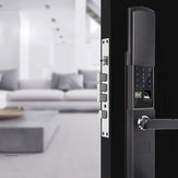 الأمن الإلكترونية ذكي قفل الباب التطبيق لمس كلمة المرور لوحة المفاتيح بطاقة بصمة