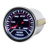 Universal 2 Inch Car Water Temperature Gauge Meter Smoked Tint Fahrenheit Unit