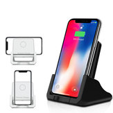10W Qi Wireless Charger Fast Charging Desktop Phone Holder For Qi-enabled Smart Phone iPhone 11 Samsung Galaxy Note 10+