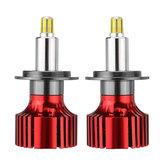 6 Lados CSP LED Lâmpadas dos faróis do carro H1 H7 H11 9005/9006 D Series 72W 9000LM 3D Lâmpada de nevoeiro de 360 graus 6500K 6500K Branco 2PCS