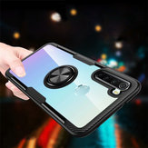 For Xiaomi Redmi Note 8 Case Bakeey 360° Adjustable Ring Holder Anti-slip Shockproof Transparent TPU Protective Case