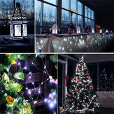 12M 100LED 8 Modes String Light USB Holiday Christmas Lights Decorative Lamp for Home Indoor Party Wedding Garland