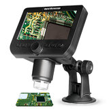 DROW 1000X 200W Pixel 4.3inch LCD Display 18000mAh Wifi Microscope with LED Light