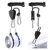 2 Pcs Pendant Hook Pulley Rope Climbing Pulley EDC Camping Portable Survival Tool