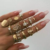 Kit de bague en or vintage