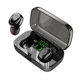 Bakeey XG23 TWS Bluetooth inalámbrico verdadero 5.0 Auricular Smart Touch Led Power Pantalla IPX6 Impermeable Auriculares con micrófono