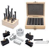 Mini Quick Change Tool Post Holder Set With 9pcs 3/8