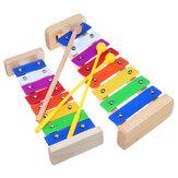 8 Notlar Ahşap Ksilofon Eğitim Müzikal Oyuncak Çocuklar için
