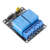 2 Channel 5V DC Relay Module  Relay Drive Module Control Board