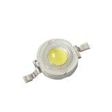 50PCS 1Wハイパワーホワイトカラー110-120LM LEDライトビーズDC3V