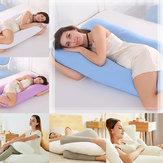 130X70CM U Shape Almofadas Confortáveis Travesseiro de corpo Almofadas de dorminhocos laterais