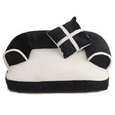 S/M/L Soft PP Cotton Pet Bed Sofa Dog Puppy Winter Warm Mat