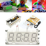 4-Digit LED Digital Electronic Micro Controller DIY Kit Clock Time Thermometer