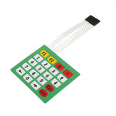 3pcs 4x5 20 Button عرض Membrane Switch Matrix Keyboard Button مراقبة Panel with ضوء