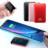 Bakeey 20000mAh Qi Cargador inalámbrico LED Pantalla Mini Power Bank Carga rápida para iPhone Android