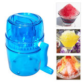 1.1L Handmatige ijsmaker Sneeuwkegel Maker Ice Cutter Crusher Juicer