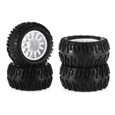 4PCS ZD Racing 6221 Tires for Monster Truck MT16 9053 9055 1/16 RC Car Vehicles Model Spare Parts