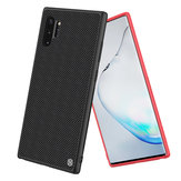 NILLKIN Shockproof Skid-Resistance Nylon Synthetic Fiber Textured Protective Case for Samsung Galaxy Note 10+ / Note 10+ 5G