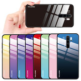 Bakeey Gradient Color Tempered Glass Protective Case for Xiaomi Redmi Note 8 Pro Non-original
