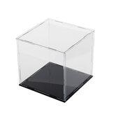 10/20 / 30cm Acrylique Boîte de vitrine Boîte de protection anti-poussière modèle d'auto-assemblage