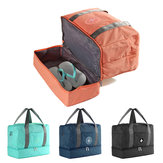 Dry and Wet Separation Bag Waterproof Clothing Storage Bags Training Yoga Handbag Shoes Isolation Sac for Travel Sport