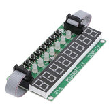 TM1638 LED Module 8 Digit 8 Push Button Switch 8 Bit Digital LED Tube Can be Cascaded