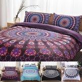 2шт / 3шт 3D богемный стиль постельного белья комфорт дышащее постельное белье пододеяльник Чехол размер Twin Queen King