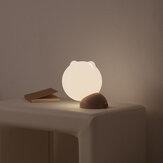 SOLOVE OO1D Smart USB Зарядка Кот Night Light LED Портативный Лампа Спальная Спальня Мини Маленький Столик Лампа