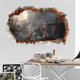 Miico FX64112 هالوين ملصق الجدار ملصق الديكور لغرفة المعيشة هالوين الديكور